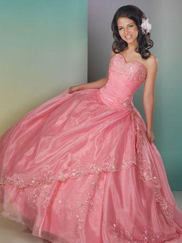 Light Quinceañera Dresses! | Pink prom dresses, Pastel and ...