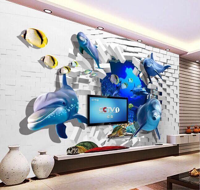 Resultado de imagen para murales en 3d murales y pisos - Murales de pared 3d ...