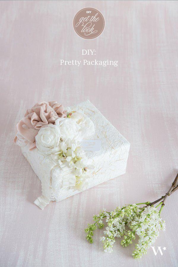 DIY Wedding Wednesday: Pretty Packaging - The Details #prettypackaging