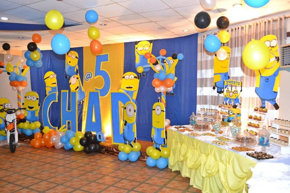 A Huge Minion Despicable Me 5th Birthday Celebration ~ Featured Party | Seshalyn's Party Ideas