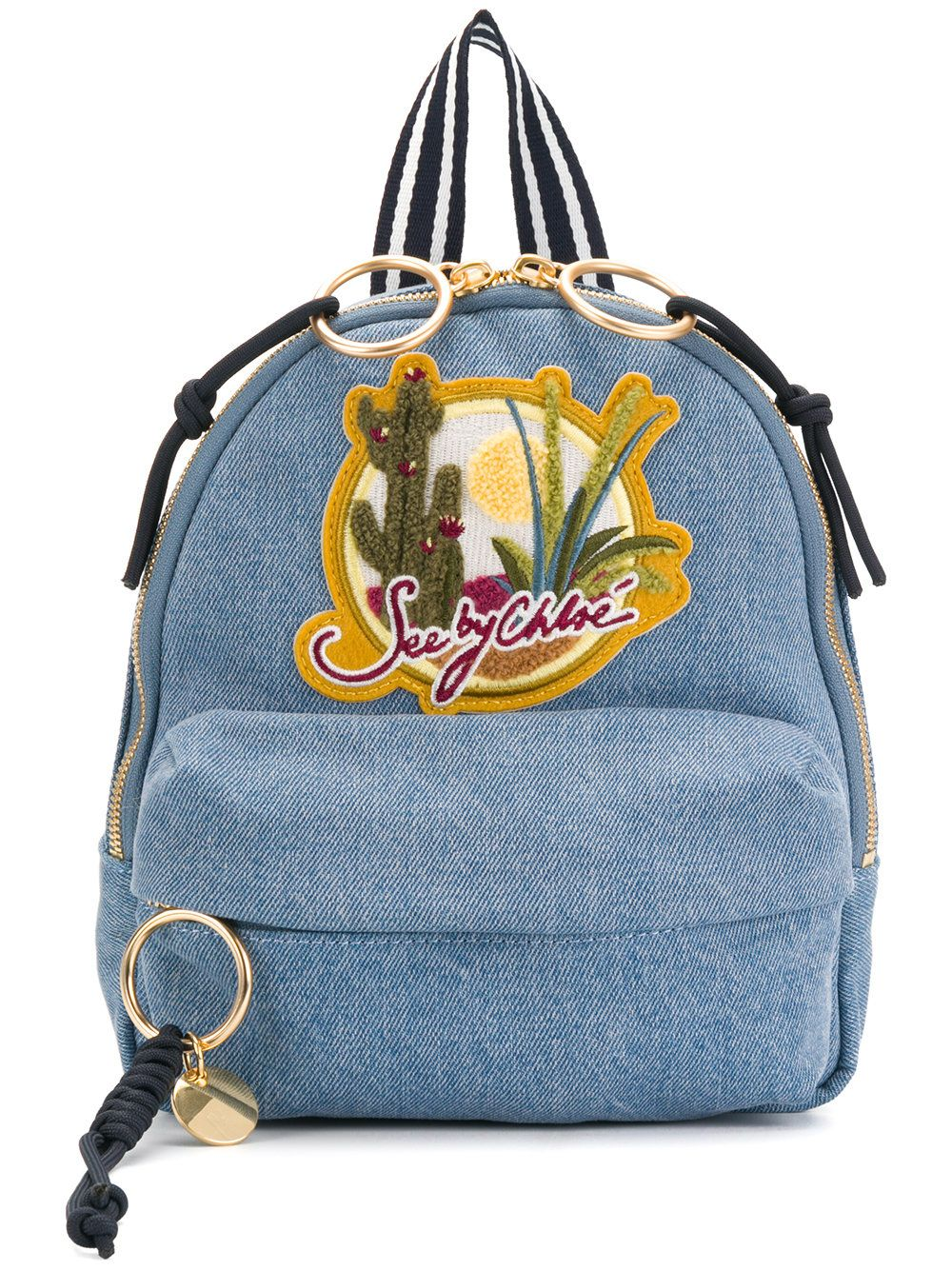 5406c718b7f99 SEE BY CHLOÉ .  seebychloé  bags  denim  backpacks