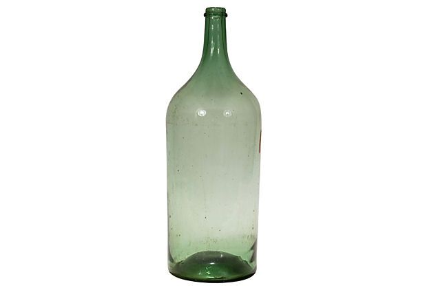 Tall Italian Demijohn $225.00 $425.00 Estimated Market Value  Era: Vintage Condition: Very Good; minor wear to finish Estimated arrival date: Sep 27 - Oct 03 This is a final sale. This item is non-returnable.