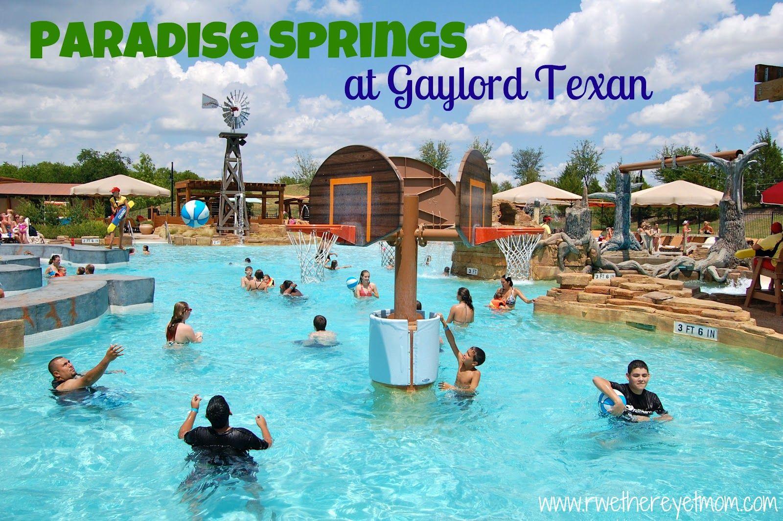 paradise springs at the gaylord texan ~ grapevine, tx | texas
