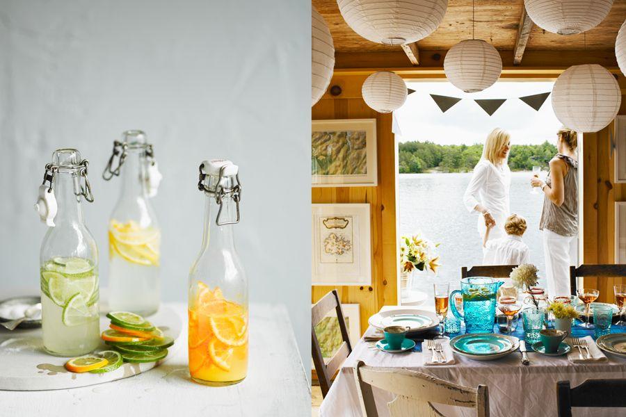 Citrus water bottles