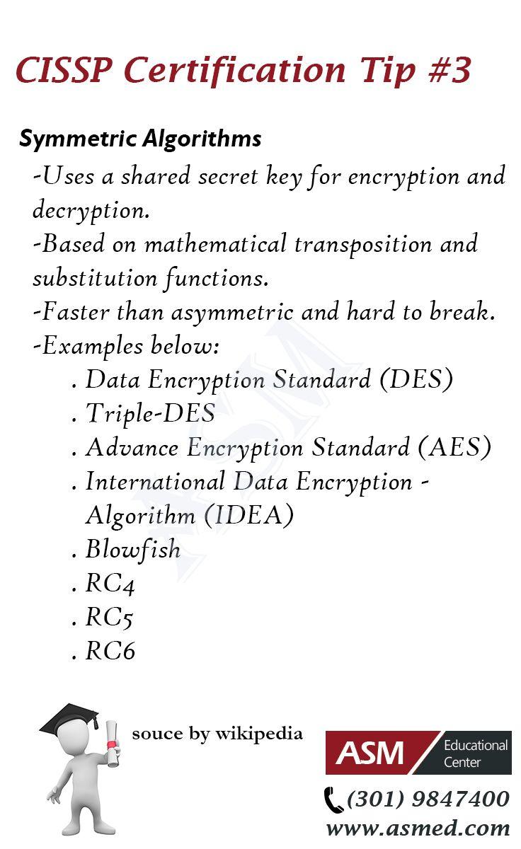Cissp certification tip symmetric algorithms for more cissp certification tip symmetric algorithms for more informations to get certified for microsoft 1betcityfo Gallery