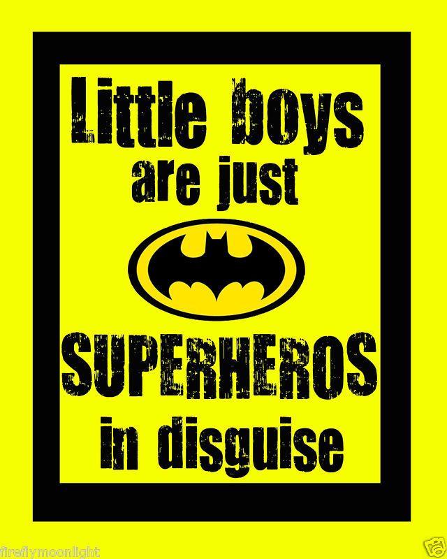 Little Boys Superhero\