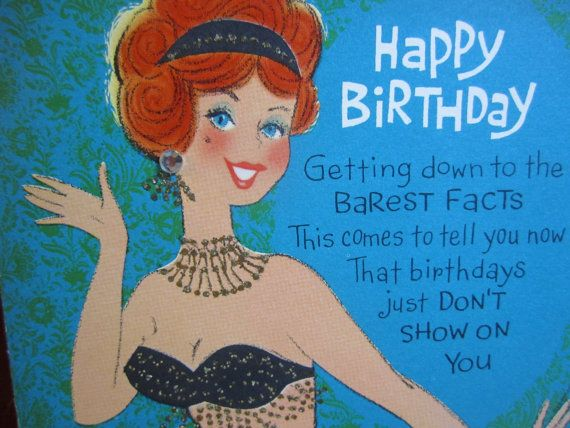 1960s First Birthday Cards