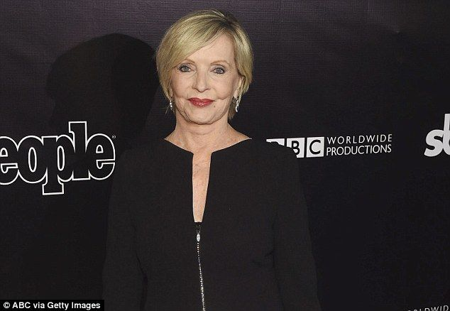 The Brady Bunch's Florence Henderson (pictured in April) has died late on Thanksgiving Day aged 82