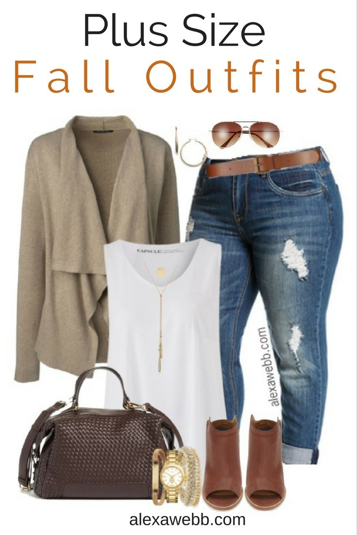 304d519b8d9 Plus Size Fall Outfits - Plus Size Fashion for Women - alexawebb.com ...