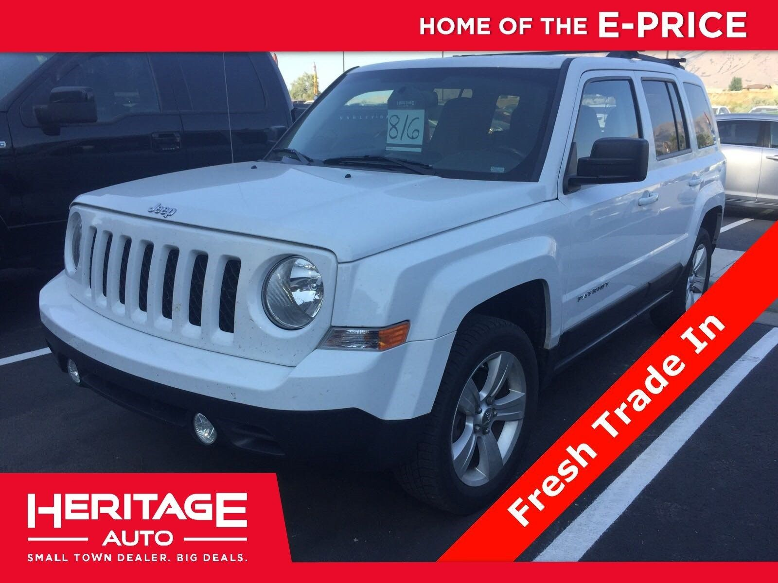 12,990 57125 miles 2013 Jeep Patriot, from Heritage
