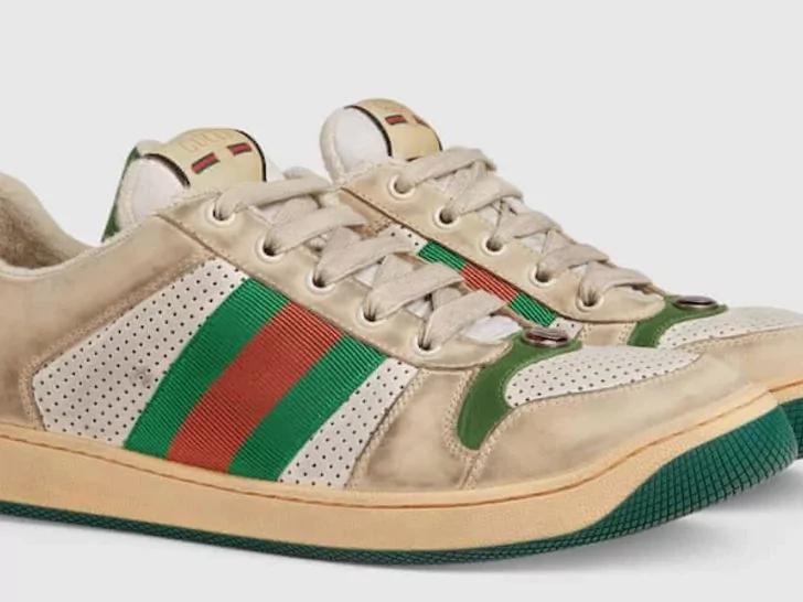 Wew, Gucci Luncurkan Sneakers Kotor
