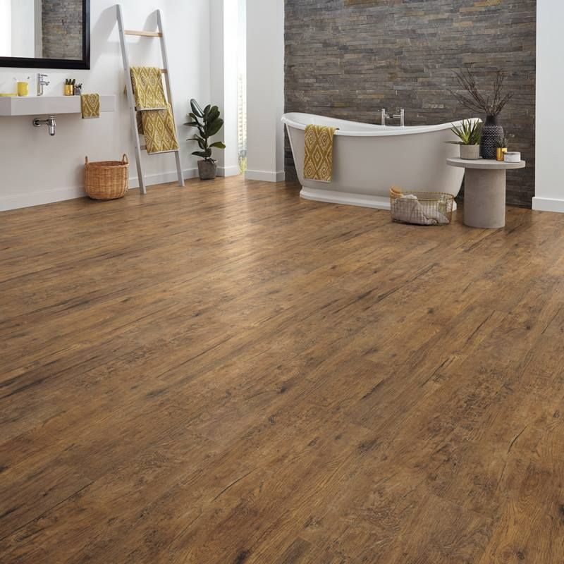 Natural Wood Effect Vinyl Flooring Realistic Wood Floors Good Rustic Look With Knots Vinyl Flooring Flooring Rustic Wood Floors