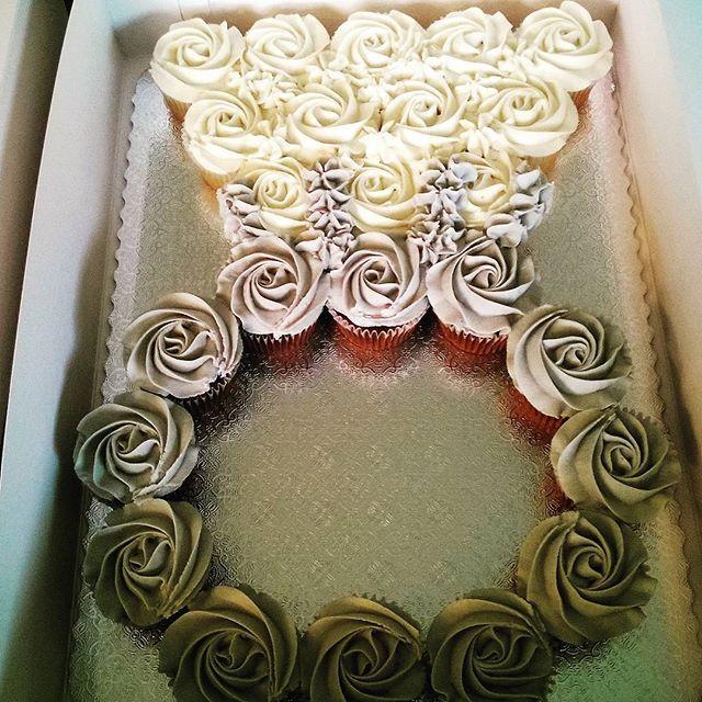 June 2016 Bridal Shower Ring Cupcakes Bridalshower Cupcakes