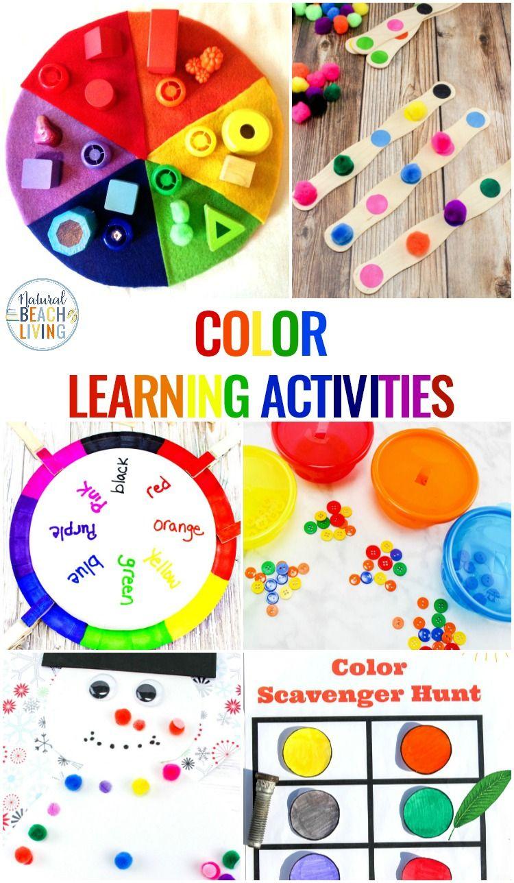Color Activities for Toddlers, Preschool and Kindergarten ...