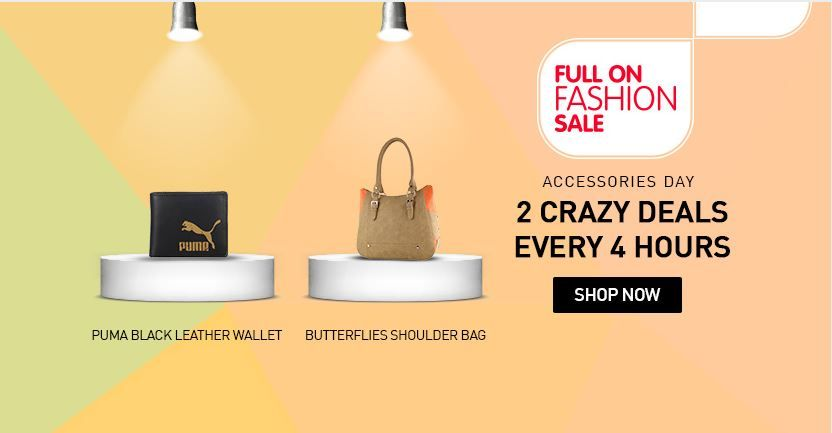 snapdeal 3 crazy deals for every 4 hours. #savemyrupee