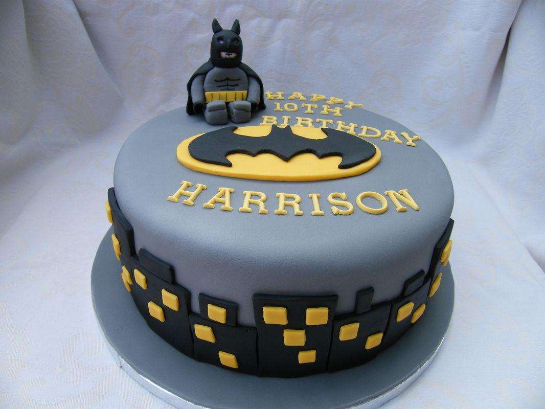 Lego Batman Cake With Images Batman Birthday Cakes Superhero