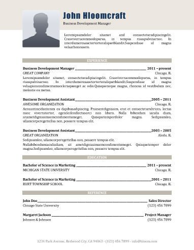 Modern-All Business Resume Templates Pinterest Business resume