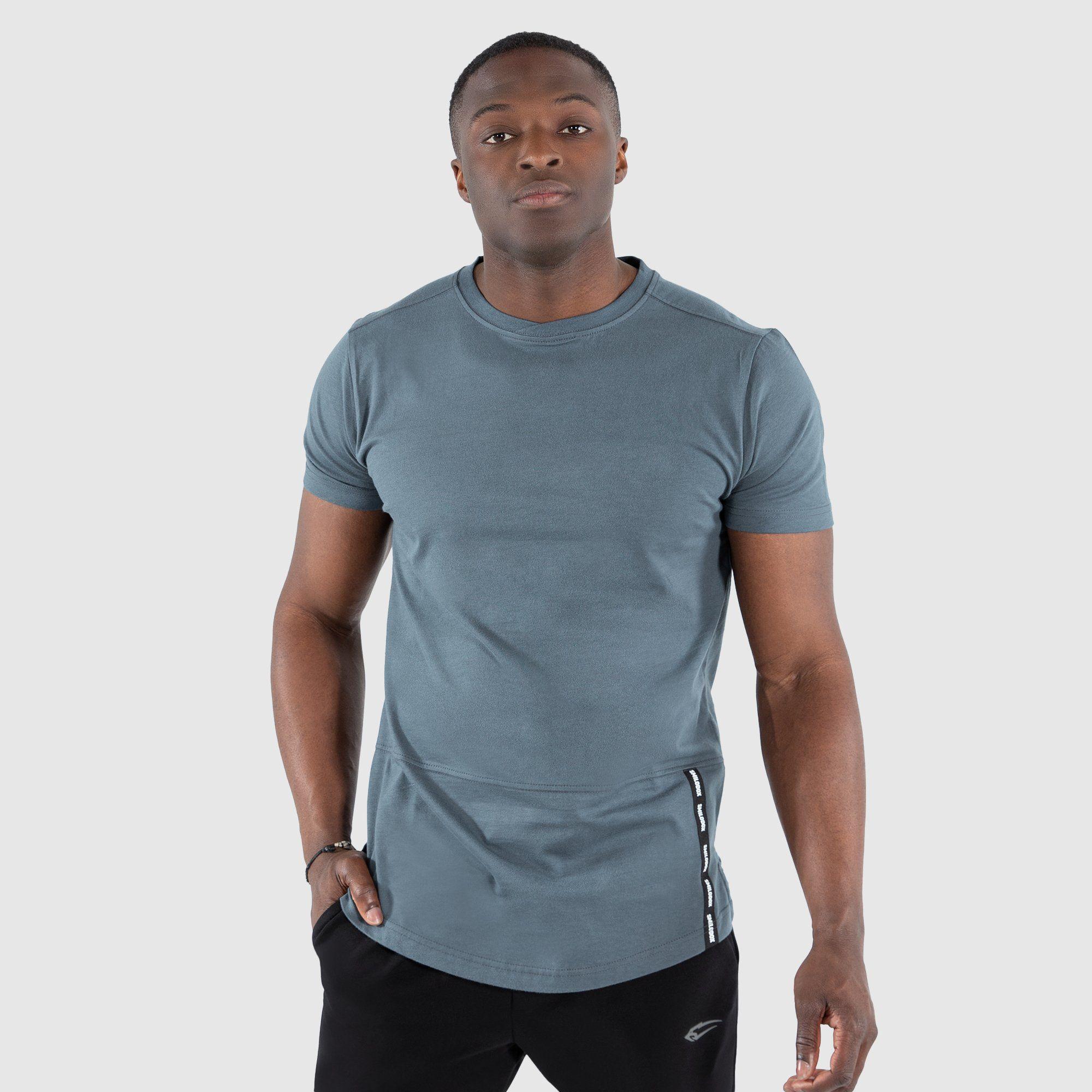 T-Shirt Hayo - Graublau / S
