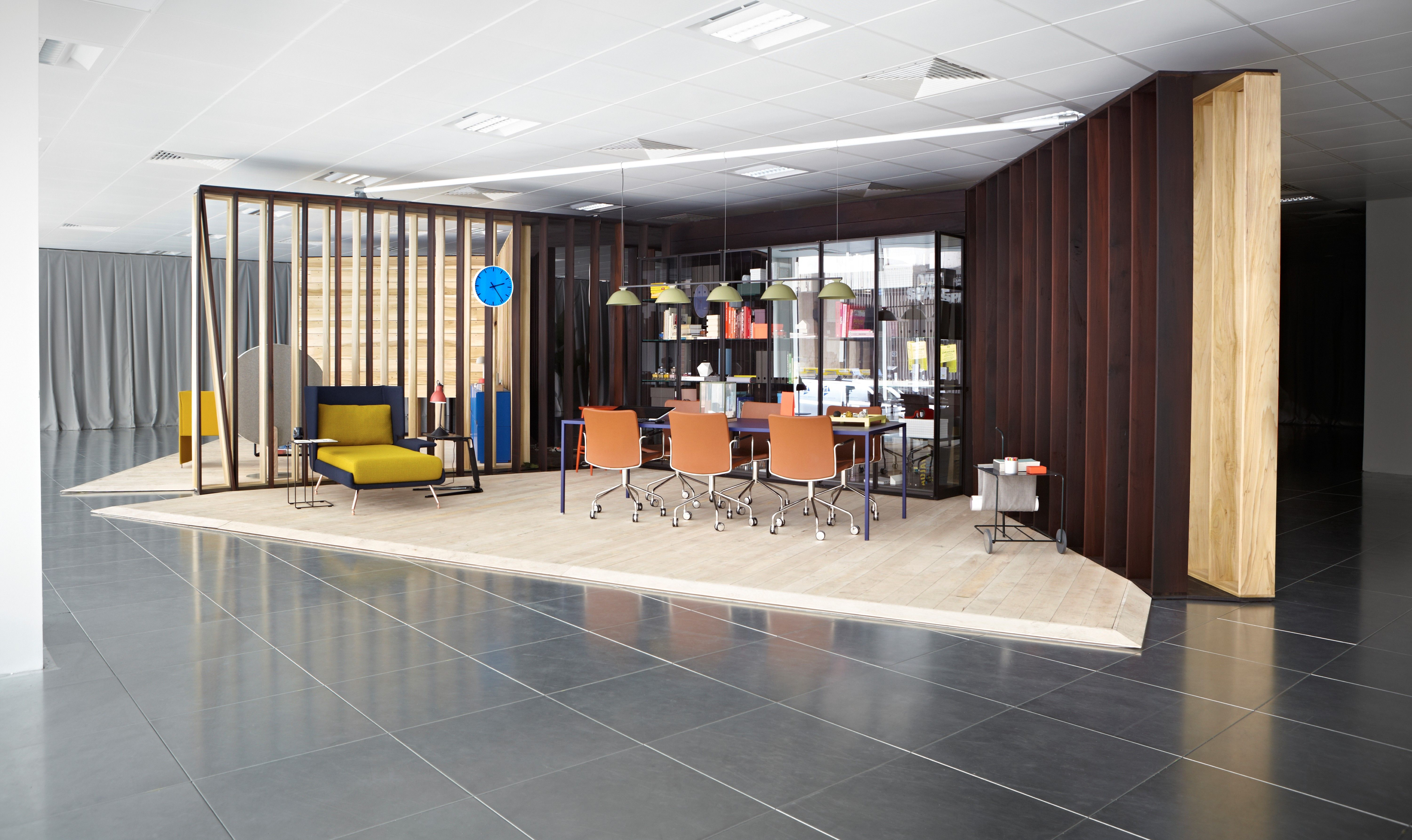 Rethinking The Modern Office, The American Hardwood Export Council Collaborated