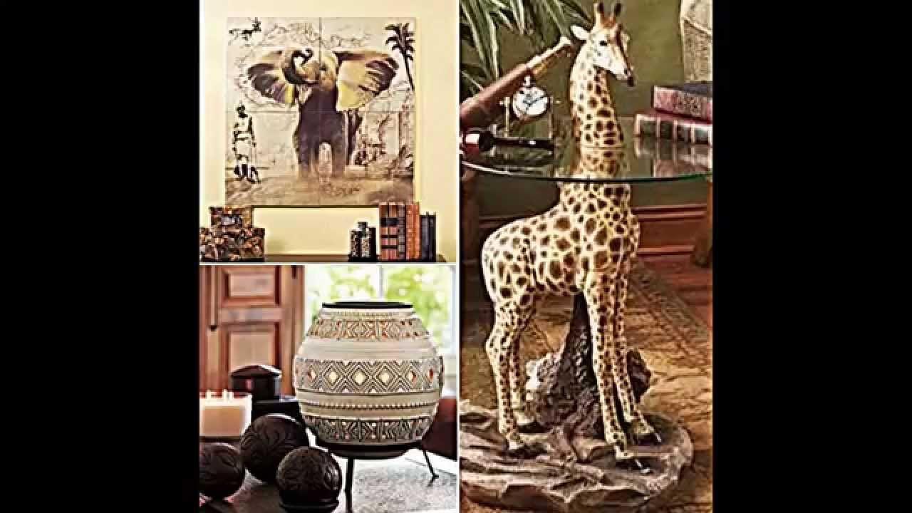 wohnzimmer einrichten im afrikanischen stil in 7  Afrika deko