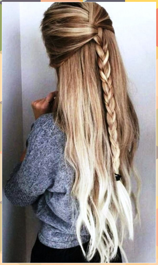 how to do nice simple hairstyles for long hair step
