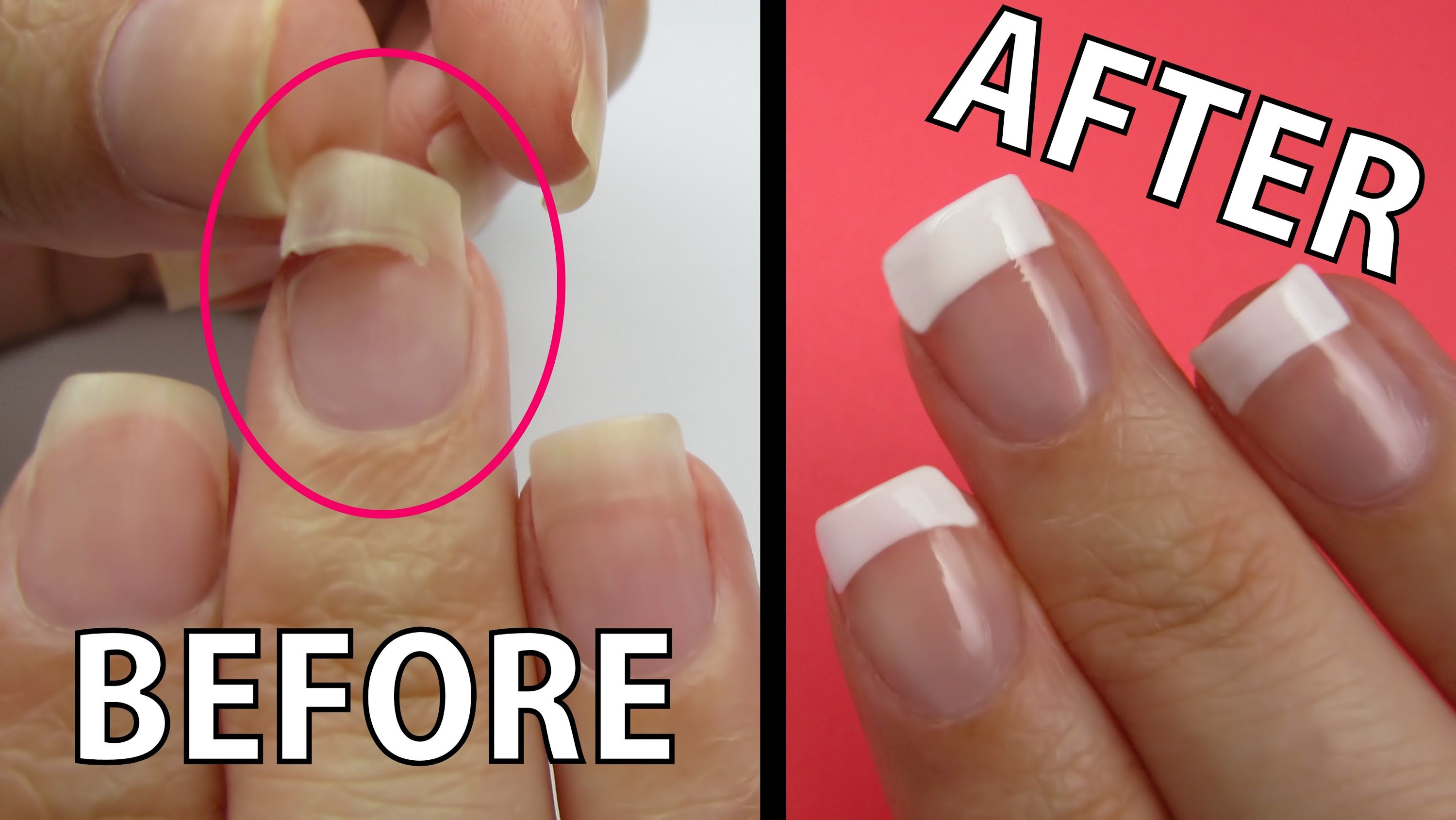 This a tutorial that will teach you how to fix a ripped nail with ...