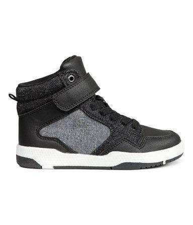 Hoge Sneakers Zwart Kinderen H Amp M Nl Black Kids