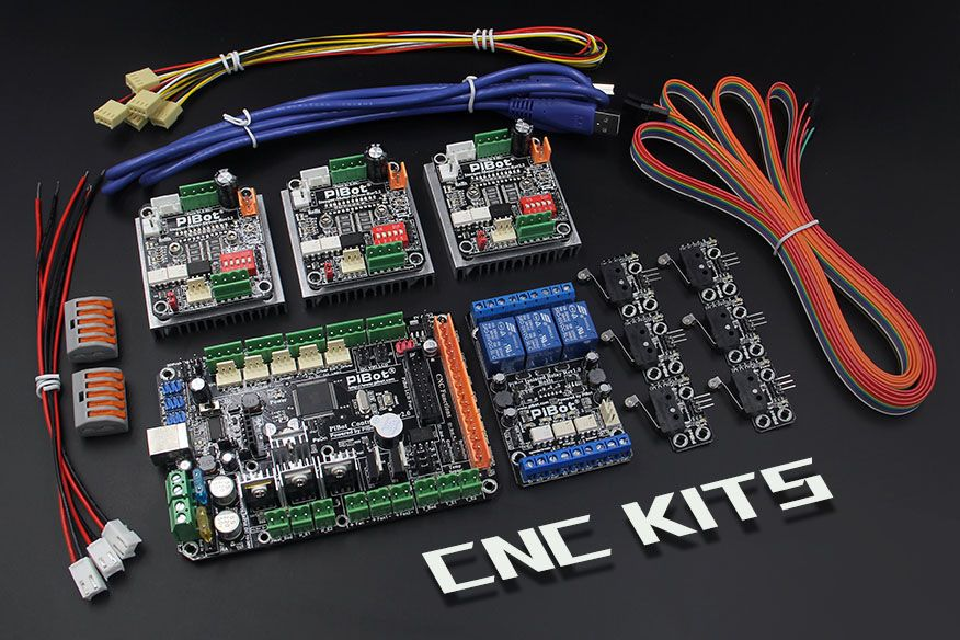 A Set Of Pibot Electronics Kits 2 0c For Cnc Free Shipping By Dhl Openbuilds Xy Plotter 3d Drucker