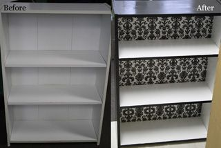 Redo Your Laminate Bookcase And Make It Something You Re Actually