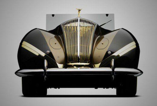 Rolls-Royce Phantom III Cabriolet, 1939.
