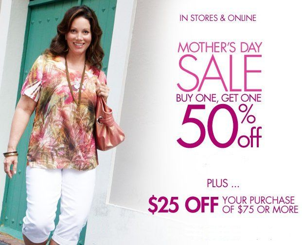 fashion bug mothers day sale