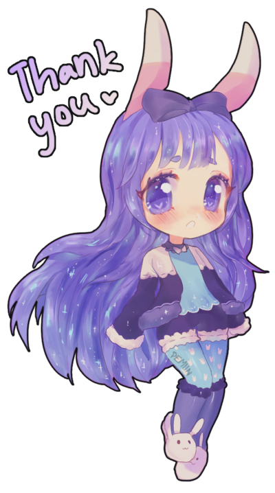 Thank you! by on DeviantArt Cute