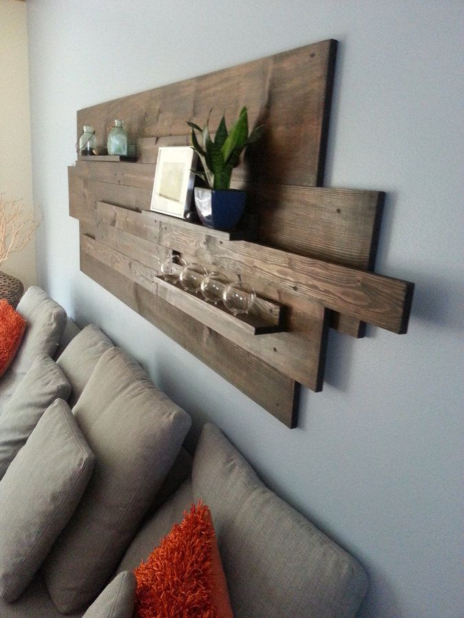Etsy Modern Rustic Industrial Reclaimed Wood Wall Art Great For Above The Sofa In Nearl Salvaged Wood Furniture Reclaimed Wood Wall Reclaimed Wood Furniture