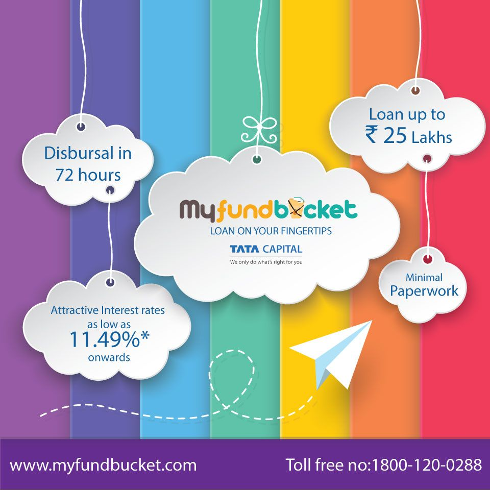 Choose A Loan That Fits Your Need Tata Capital Visit Https Www Myfundbucket Com Personal Loan Toll Fr Free Psd Design Print Stickers Backdrops Backgrounds