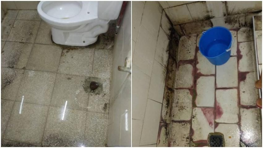 Asi Estan Los Banos En El Hospital Pediatrico De Pinar Del Rio