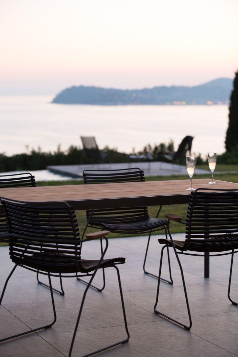 Houe – Four Tisch – Bambus – 90 x 160 cm – outdoor
