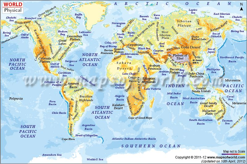 I Need A Map Of The World.World Physical Map Future Ap World Needs World History World