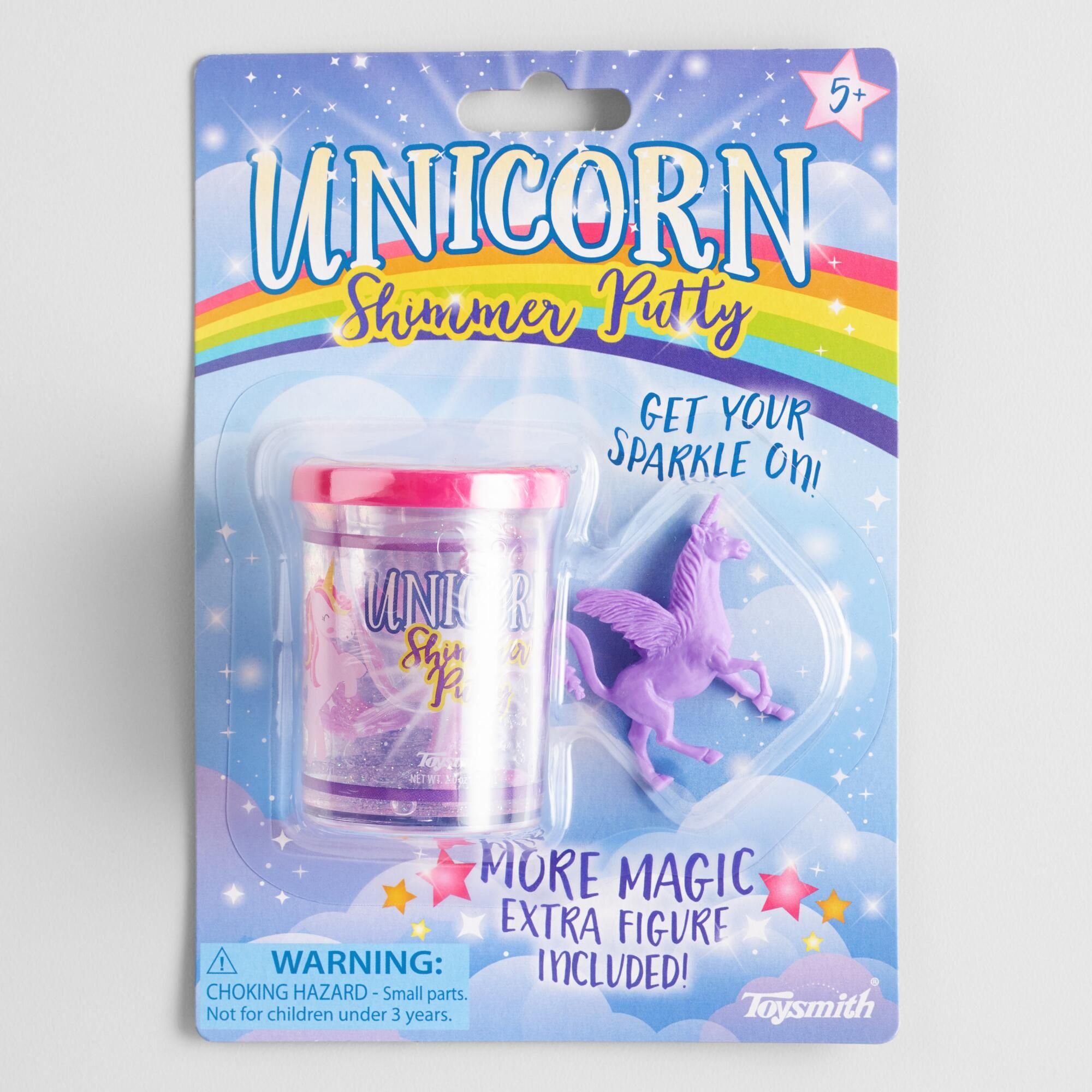 Shimmering Unicorn Putty Set Of 2 Unicorn Party Favors