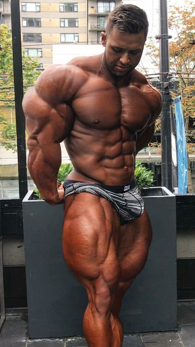 Muscle bodyworship