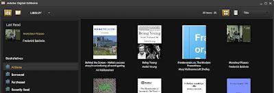 Adobe Digital Editions -ohjelmalla voi lukea EPUB-muotoisia kirjoja PC:llä