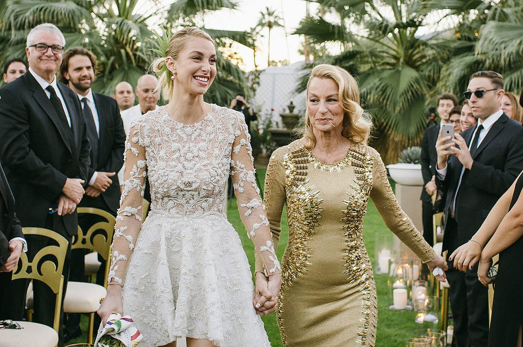 Whitney Port S Insanely Pretty Wedding Pictures Will Inspire Your Own Walk Down The Aisle Whitney Port Wedding Whitney Port Mermaid Style Wedding Dress