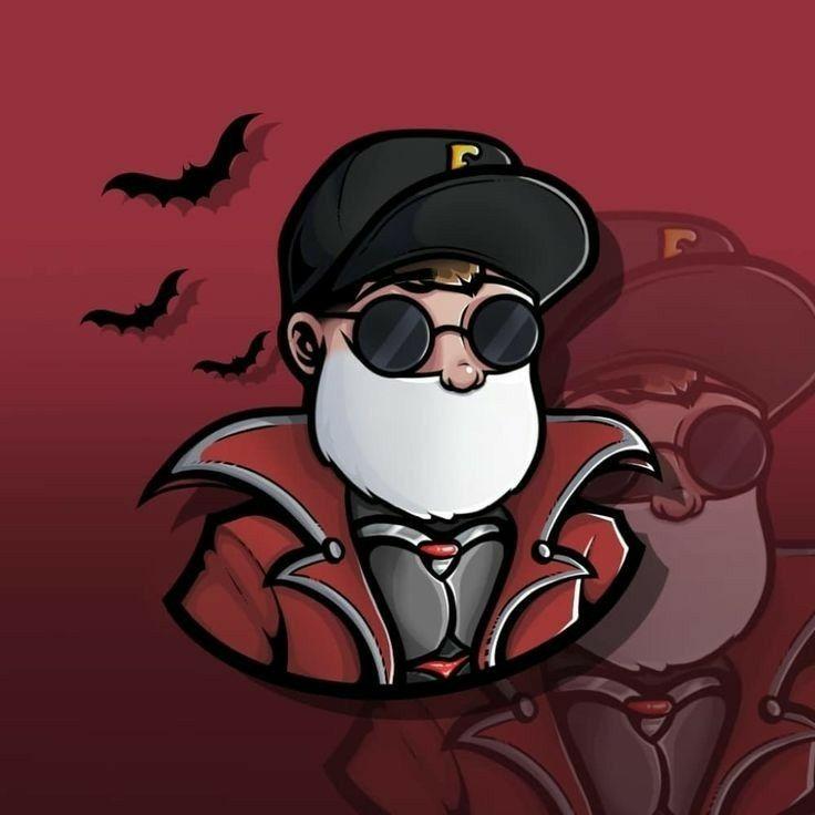 Skin Free Fire Logotipos Retro Desenho De Asas De Anjo Desenho De Ninja