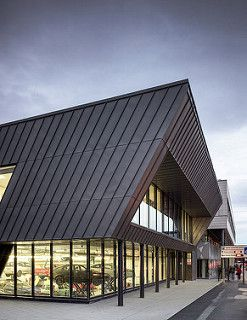 Bolton College Stem Centre Stem Centers Zinc Cladding Bolton College