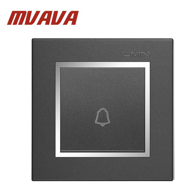MVAVA Inferior Empuje interruptor de timbre de La Puerta de LA UE ...