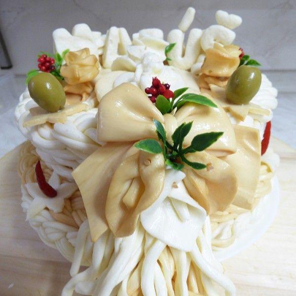 Syrová torta s menom
