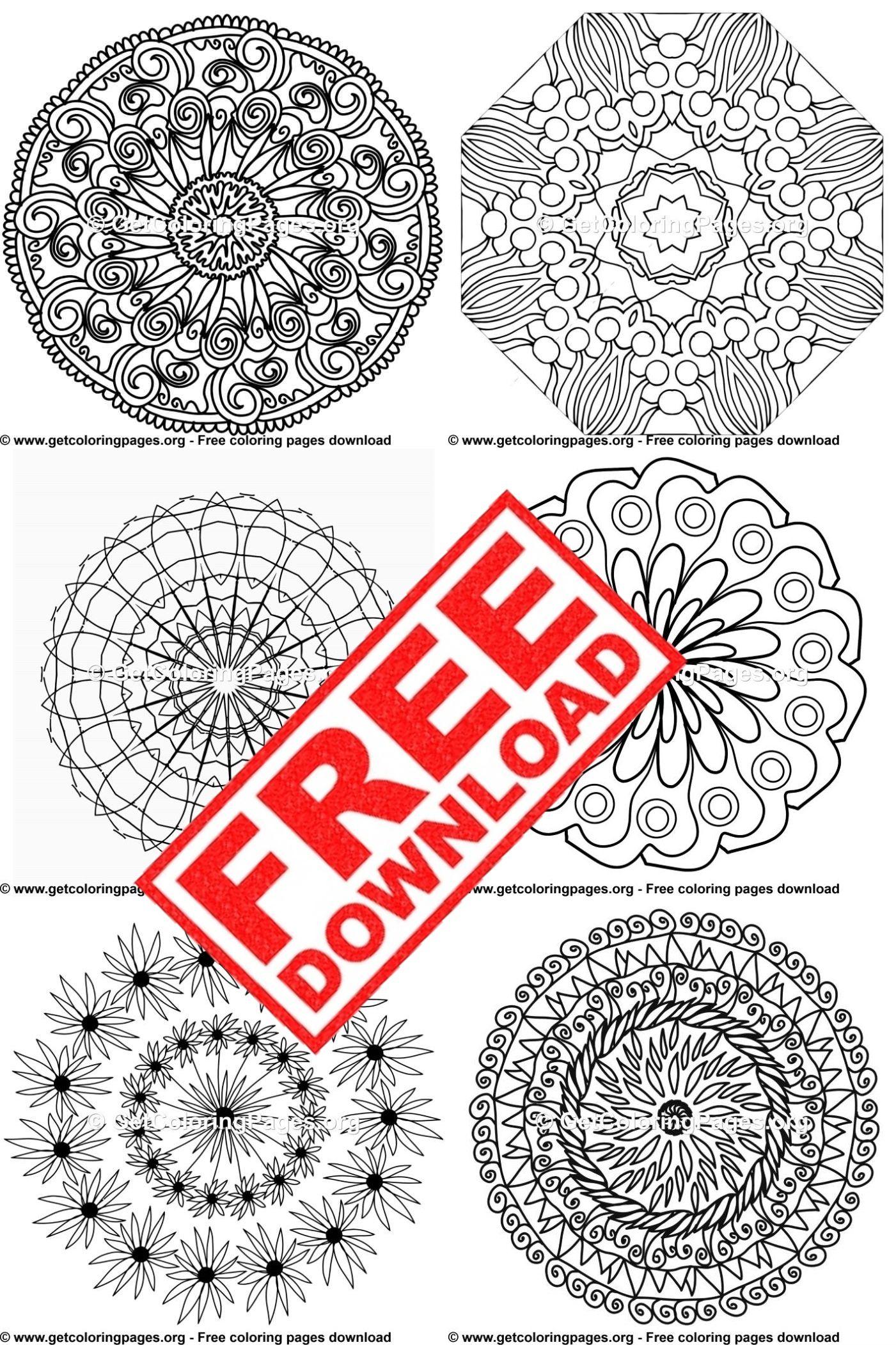 Free Mandala Printables Mandala Printable Free Dot Art Painting Mandala Printable