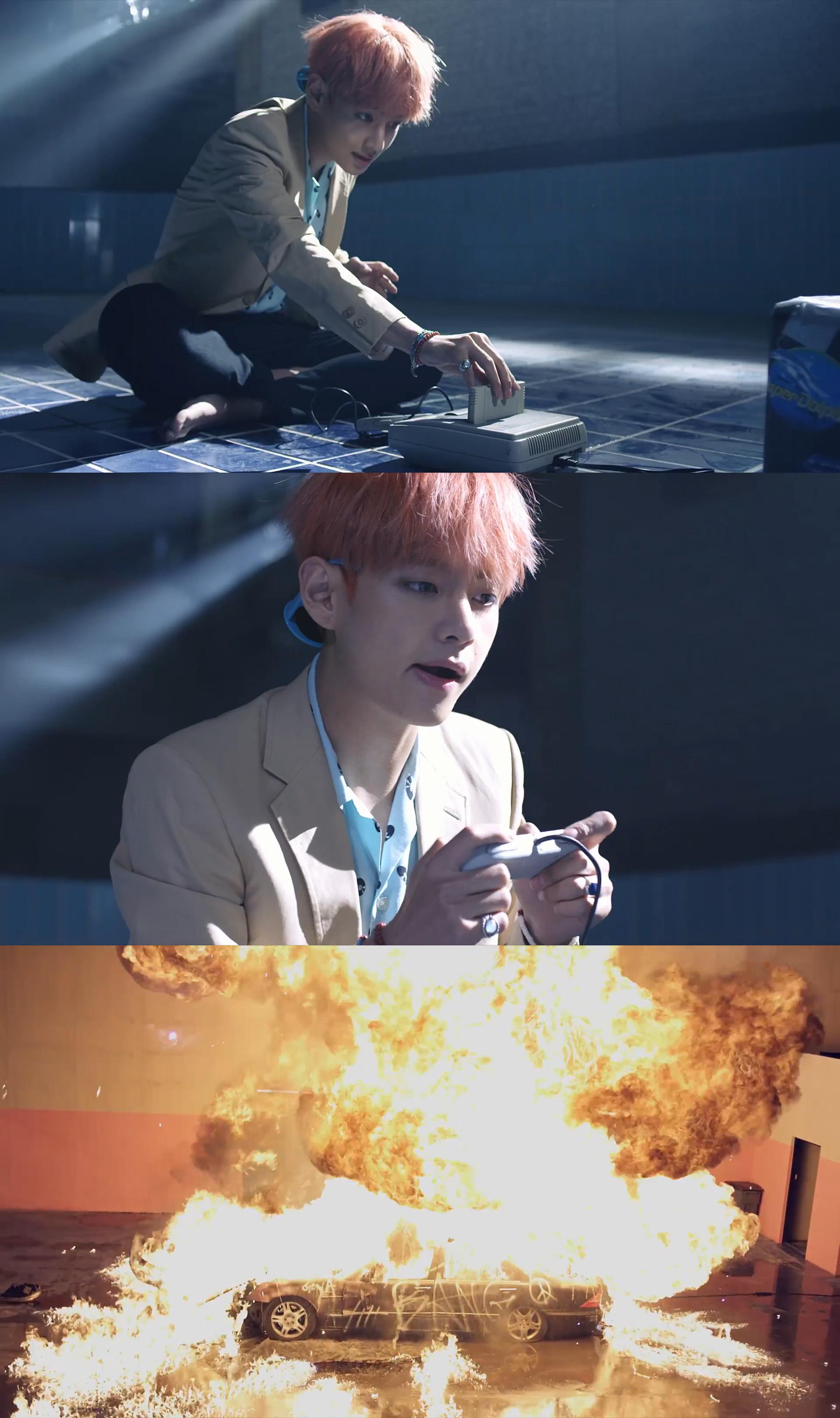 BTS FIRE V   Taehyung