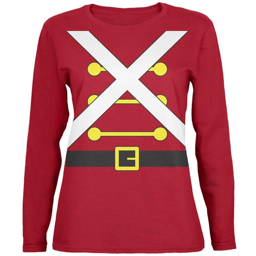 Christmas Toy Soldier Nutcracker Costume Toddler Long Sleeve T Shirt