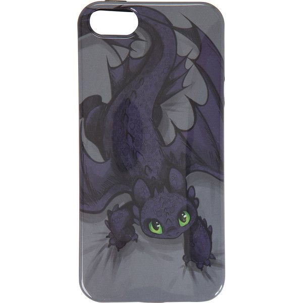 How To Train Your Dragon Toothless Crawling iPhone 5 Case Hot Topic (31 CAD) ❤ liked on Polyvore featuring accessories, tech accessories, phone cases and phone