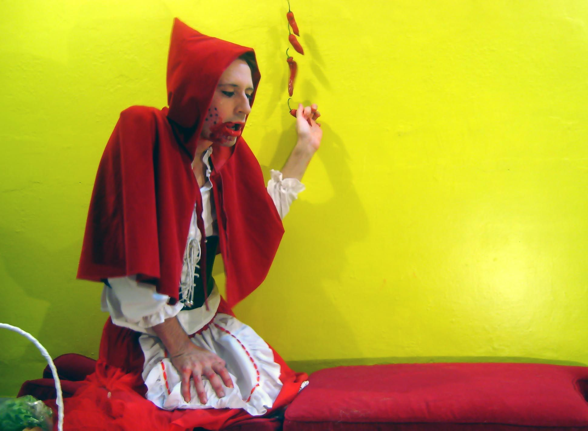 Blitto as red Riding Hood by Nina Plez - 2008